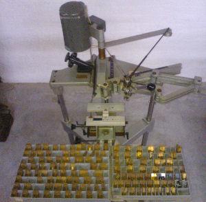 Gravørmaskine brugt